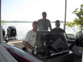 Dave Anderson and his friend Jack asked me to pre-fish with them when they were here for the PWT in 2008