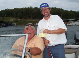 Al & MIke at the 2007 MSW Bull Shoals Open