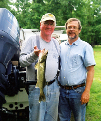 Charlie D with Walleye & Al