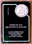 PWT Third Place Amateur Co-Angler Outdoor Channel Pro/Am June 2008