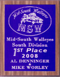 First Place MSW South Division or the year 2008