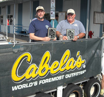 Al & Mike take First Place in the MSW Bull Shoals Open in October 2008